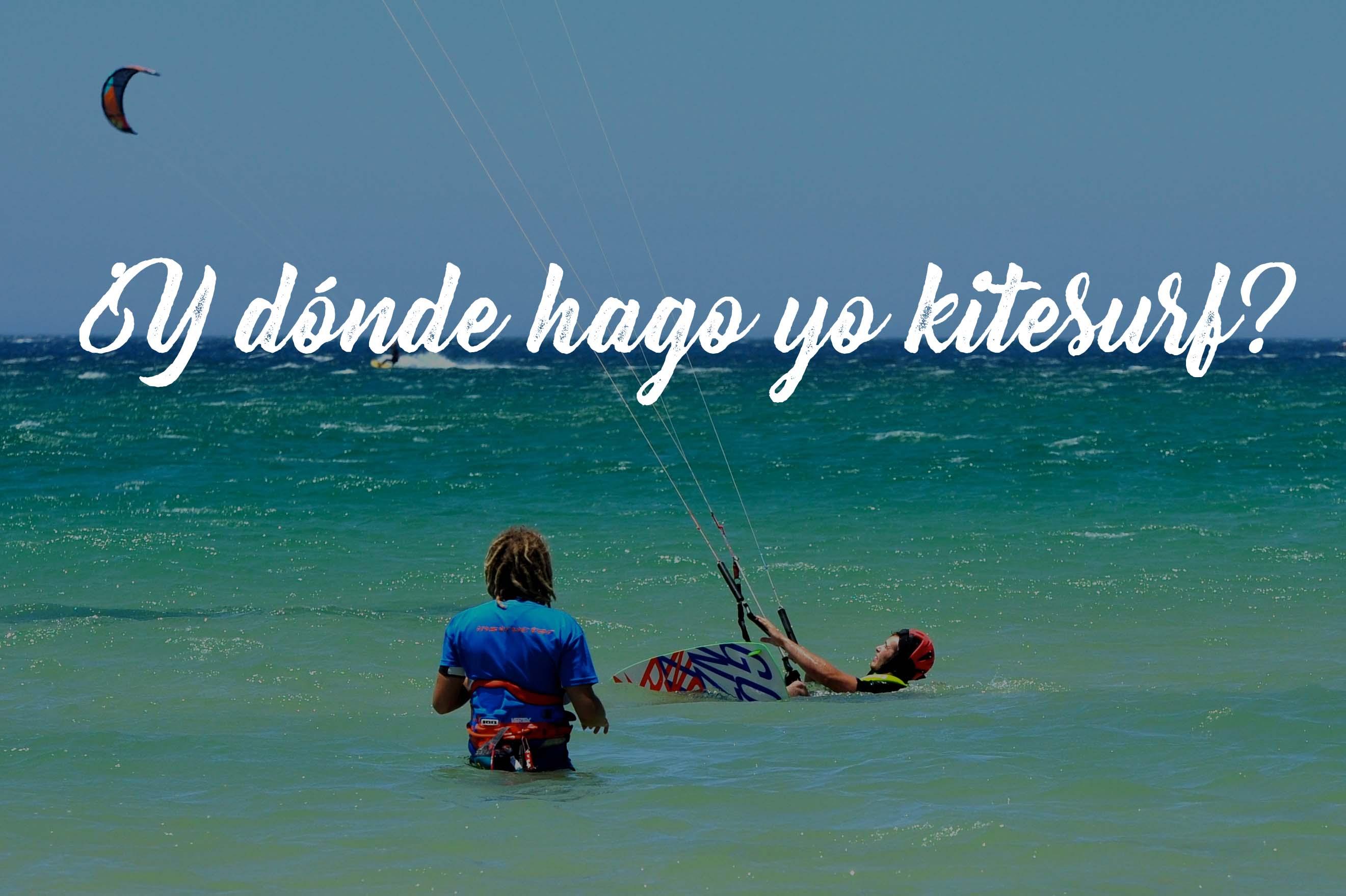 donde hago kitesurf
