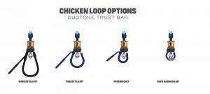 tipos chicken loop barra