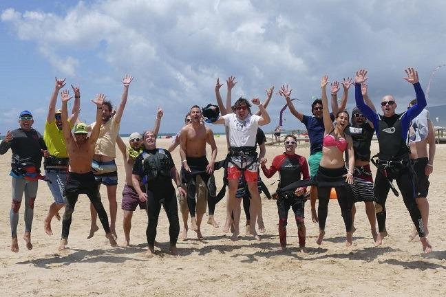 Experiencia curso de kite en Tarifa