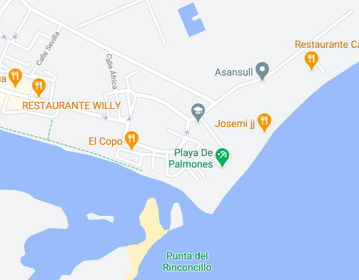 Spots de kite alrededores de Tarifa