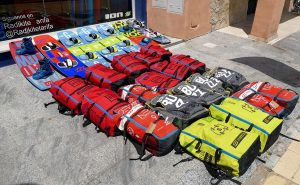 Equipamiento curso kitesurf